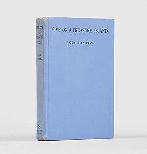 Five on a Treasure Island. An Adventure: BLYTON, Enid.