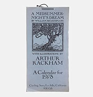 A Midsummer-Night's Dream by William Shakespeare. A: RACKHAM, Arthur.