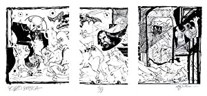 Gonzo Guernica.: STEADMAN, Ralph. (THOMPSON,