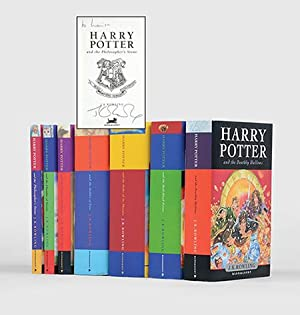 Complete set of the Harry Potter novels:]: ROWLING, J. K.