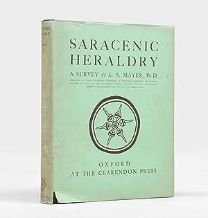 Saracenic Heraldry. A Survey.: MAYER, Leo Aryeh.