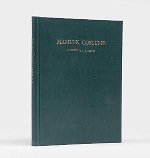 Mamluk Costume. A Survey.: MAYER, Leo Aryeh.