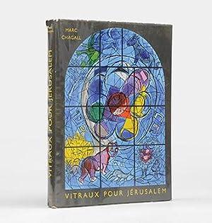 Vitraux pour Jérusalem. Introduction et Notes de: CHAGALL, Marc.