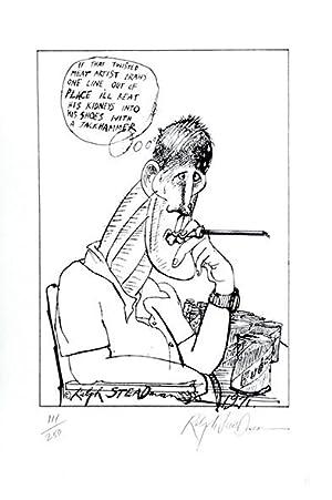 Hunter S. Thompson, Twisted Meat Artist.: STEADMAN, Ralph