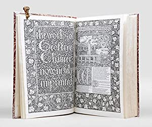 The Works.: KELMSCOTT PRESS.) CHAUCER,