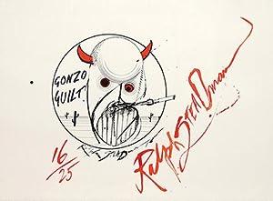 Gonzo Guilt! (Hunter S. Thompson.): STEADMAN, Ralph.