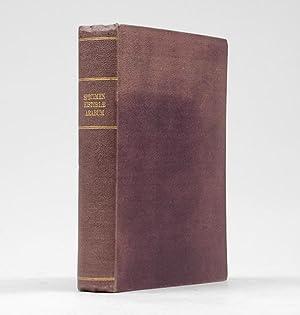 Specimen historiae Arabum. Accessit Historia veterum arabum: POCOCKE, Edward.