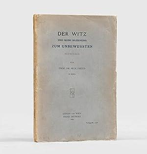 Der Witz und seine Beziehung zum Unbewussten.: FREUD, Sigmund.