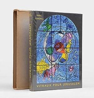 Vitraux Pour Jerusalem. Introduction et Notes de: CHAGALL, Marc.