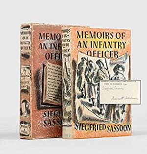 Memoirs of an Infantry Officer. With illustrations: SASSOON, Siegfried.