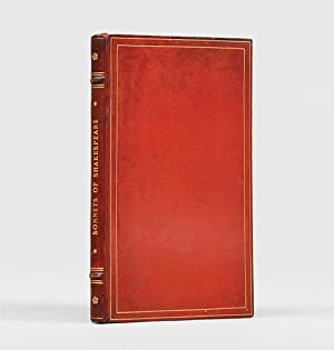 The One Hundred Fifty-Four Sonnets. Designed and: SHAKESPEARE, William.