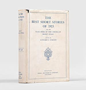 The Best Short Stories of 1923 and: HEMINGWAY, Ernest.) O'BRIEN,