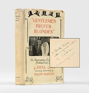 "Gentlemen Prefer Blondes."" The Illuminating Diary of: LOOS, Anita."