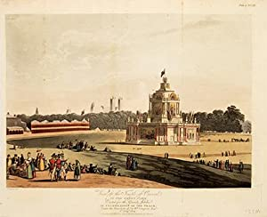 View of the Temple of Concord, in: PUGIN, A., &