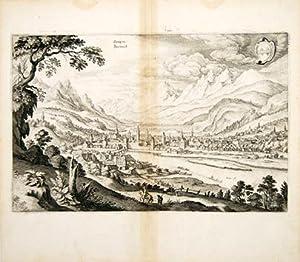 Oenipons, Innsbruck.: GOTTFRIED, Johann Ludwig. Engraved by MERIAN, Matthew.