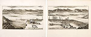 Another View of the Ruins of Persepolis, with a view of the River Araxis. Plate 20, 18 & 19.: ...