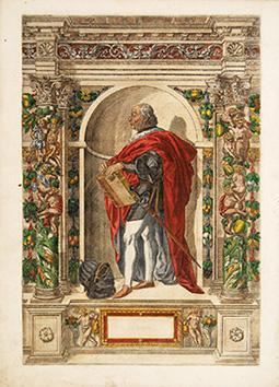 Janus Maria Fregosius von Genua: Artist: FONTANA, Giovanni Battista.Engraved by CUSTOS, Custos.