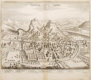 SEDUNUM. Sitten.: GOTTFRIED, Johann Ludwig. Engraved by MERIAN, Matthew.