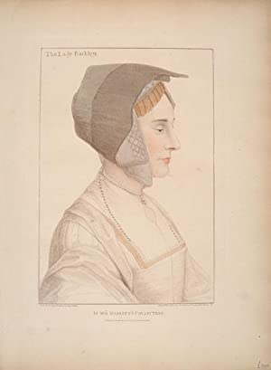 The Lady Barkley [actually Elizabeth Dauncey].: HOLBEIN, Hans.
