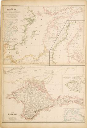 THE BALTIC SEA with the GULFS of BOTHNIA & FINLAND. THE CRIMEA. LXXXIX.: Engraved by ...