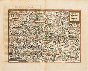 Mansfeldiae Comitatus descriptio Auctore Tilemanno Stella Sig.: QUAD, Matthias.
