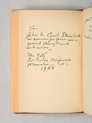 Earthly Discourse.: STEINBECK, John.) WOOD,