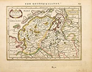 EMDEN et Oldenborch.: MERCATOR/JANSSON.