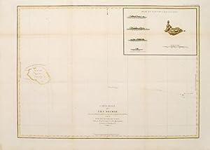 Carte plate de l'Ile Necker.: LA PÉROUSE, Jean Francois de Galaup.