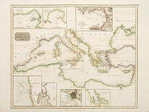 Chart of the MEDITERRANEAN SEA.: THOMSON, John.