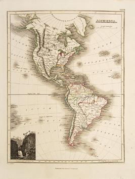 North America.: WYLD, James. Engraved by HEWITT, N.R.