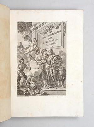 El ingenioso hidalgo Don Quixote de la: CERVANTES, Miguel de.