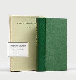 Rubáiyát of Omar Khayyám. The First Version: FITZGERALD, Edward (trans).