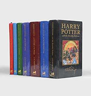 Complete set of the deluxe editions:] Harry: ROWLING, J. K.