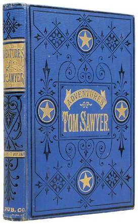 The Adventures of Tom Sawyer.: CLEMENS, Samuel Langhorne]