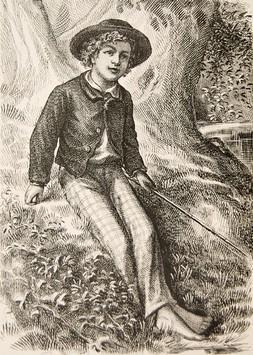 The Adventures of Tom Sawyer.: CLEMENS, Samuel Langhorne] TWAIN, Mark.