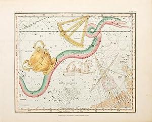 Untitled] Felis, Hydra, Crater, Sextans. Plate XXVI: JAMIESON, Alexander.