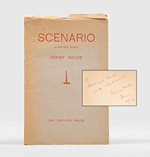 Scenario (A film with sound).: MILLER, Henry.
