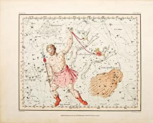 Untitled] Bootes, Canes Venatici, Coma Berenices. Plate: JAMIESON, Alexander.