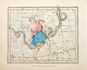 Untitled] Ophiuchus, Serpens. Plate IX: JAMIESON, Alexander.
