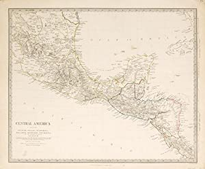 Central America, including Yucatan, Belize, Guatemala, Salvador, Honduras, Nicaragua and the ...