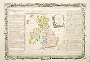 Les Isles Britanniques.: DESNOS & BRION