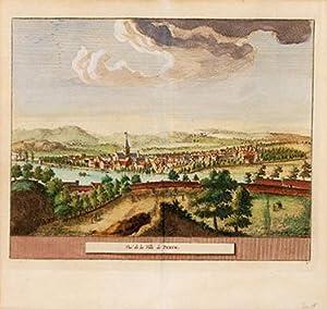 Vue de la Ville de Perth.: AA, Pieter van der.