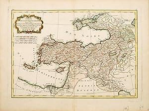 Carte de la Turquie D'Asie: BONNE, Rigobert