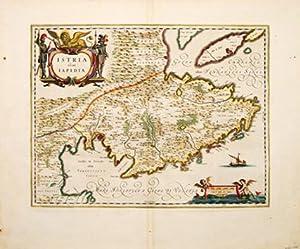Istria olim Iapidia.: Blaeu, Joannes.
