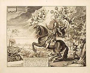 Charles le Second: Roy de la Grande Bretagne. Pl 5.: CAVENDISH, William