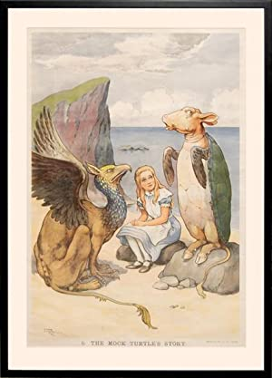 Macmillan's Coloured Wall Illustrations. Alice in Wonderland.: DODGSON, Charles Lutwidge]