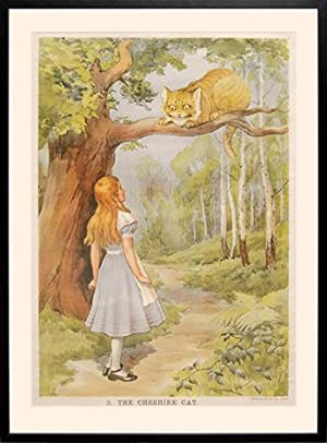 Macmillan's Coloured Wall Illustrations. Alice in Wonderland.: DODGSON, Charles Lutwidge]