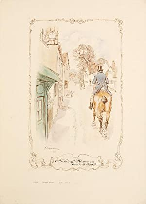 Complete set of illustrations for Jane Austen's: AUSTEN, Jane.) BROCK,