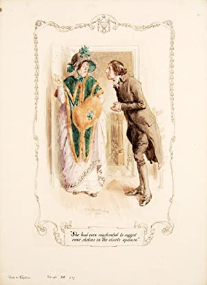 She had even vouchsafed to suggest some: AUSTEN, Jane.) BROCK,