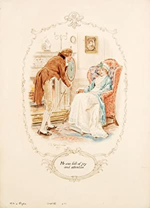 He was full of joy and attention.: AUSTEN, Jane.) BROCK,